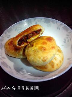 香菇肉酱煎饼
