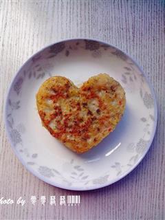 心形蔬菜煎饼