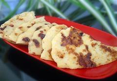 红糖玉米面煎饼