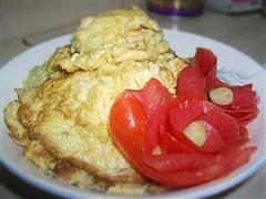 韭菜花煎蛋