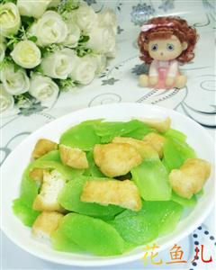 油豆腐炒莴笋