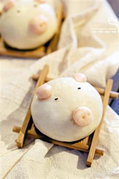 QQ猪馒头