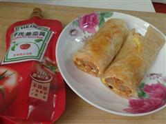 茄汁手抓饼