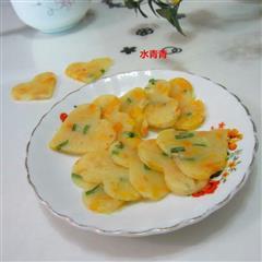 南瓜丁煎饼
