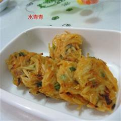 红薯丝煎饼