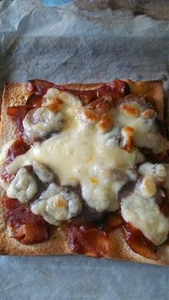 吐司快手披萨