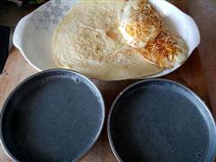 煎蛋鸡蛋饼