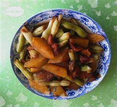 土豆芸豆红烧肉