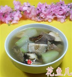 香菇冬瓜排骨汤