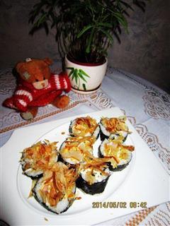 鲣鱼肉松寿司