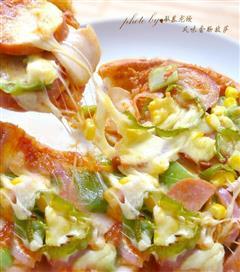 风味香肠披萨