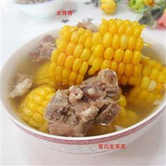 甜玉米排骨汤