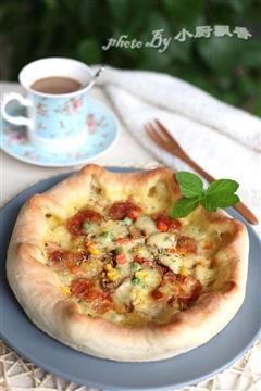 芝心花边披萨