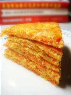 胡萝卜丝煎饼