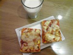 简易早餐披萨
