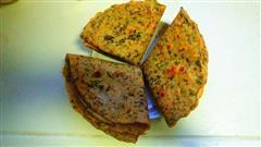 芹菜叶子煎饼