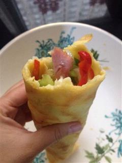 中式披萨卷