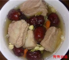 甜甜排骨汤