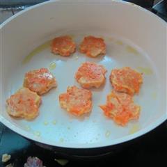 奶香红萝卜丝煎饼