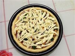 培根松茸披萨