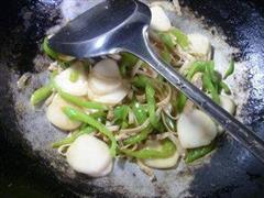 青椒肉丝年糕炒面