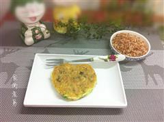 红米饭煎饼