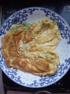 椒盐葱花鸡蛋饼