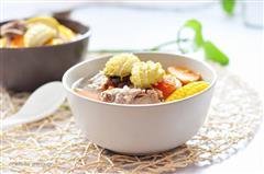 蔬菜鲍鱼排骨汤