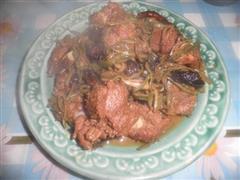 干豆角丝炖排骨