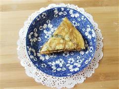 紫苏叶鸡蛋饼