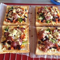 简易土司披萨