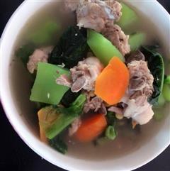 莴笋排骨汤