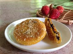 芝麻核桃南瓜饼