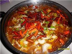 红火水煮鱼