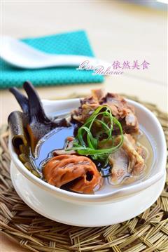 海鲜排骨汤
