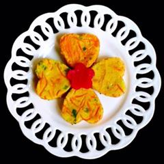 红萝卜鸡蛋煎饼