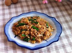 青蒜蛋炒饭