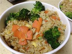 杂锦鲜菇版蛋炒饭