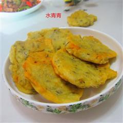 干梅菜鸡蛋煎饼