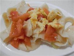 鸡蛋西红柿炒面