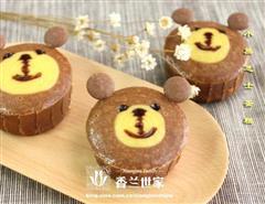 小熊芝士蛋糕