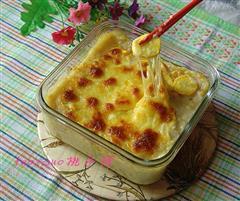 芝士西葫芦焗土豆泥