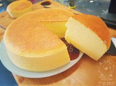 奶香榴莲芝士蛋糕