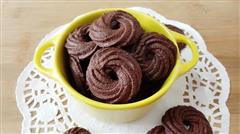 巧克力樱花曲奇饼干
