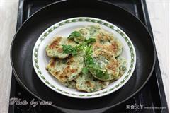 芝麻香菜煎饼