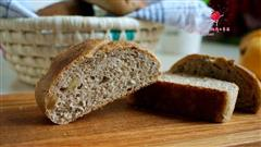 核桃椰浆全麦面包