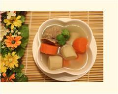 牛蒡红萝卜排骨汤