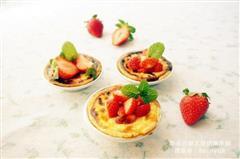 草莓酸奶蛋挞