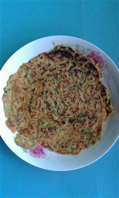 胡萝卜青菜全麦煎饼