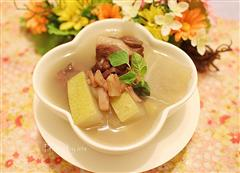 冬瓜红豆排骨汤
